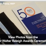 Sir Walter Raleigh Awards Celebrate 50 Years of Excellence in Communication