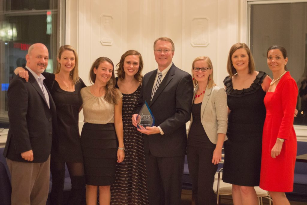 Raleigh Public Relations Society Watt Huntley Award 2017