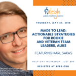 RPRS Workshop Made to Lead with Karl Sakas