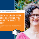 RPRS Webinar Networking with Christine Clifton